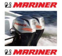 Mariner Engines from Offshore Marine Services, Burtonport, Co. Donegal, Ireland